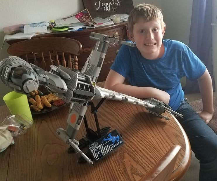 Xander and the B-wing